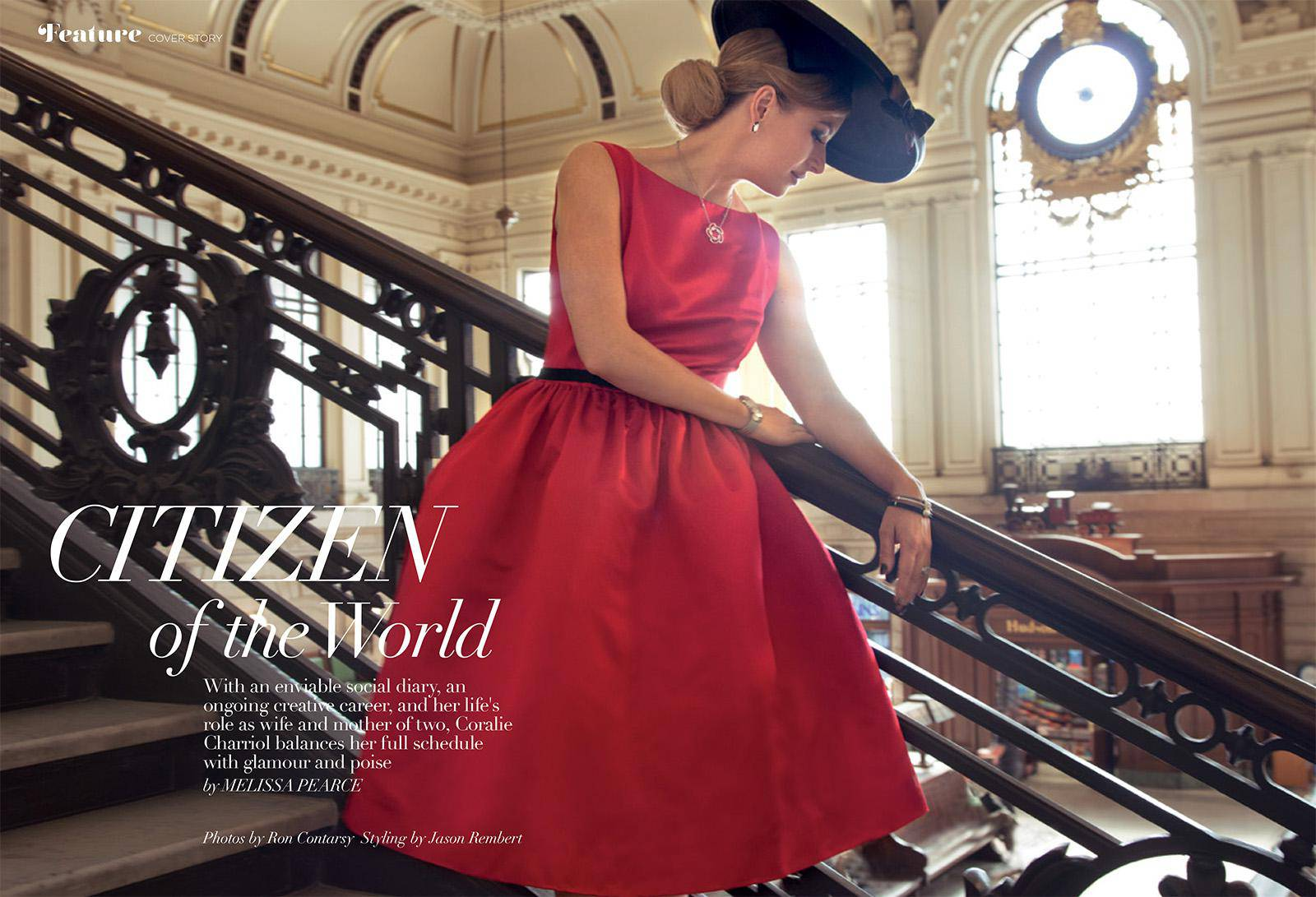 Coralie Charriol Solitaire Magazine Inside Story 01