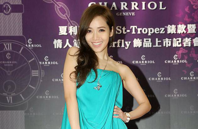 Actress Patty Hou in Taiwan Charriol St-Tropez watch launch event