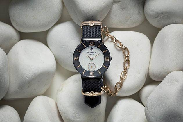 St-Tropez Watch Infinite Summer Black by Charriol