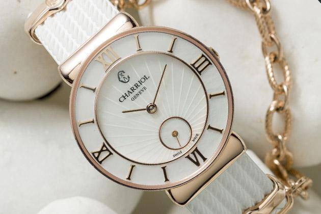 St-Tropez Watch Infinite Summer White rubber by Charriol