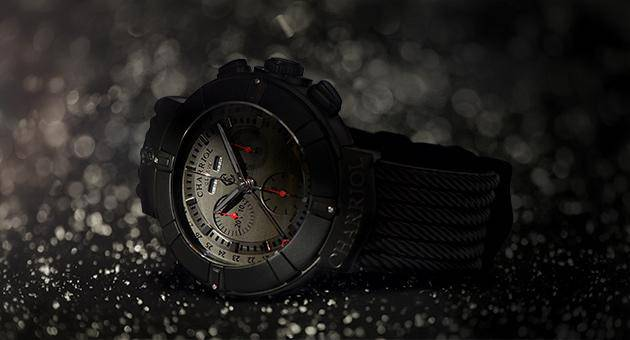 Charriol Celtica Chrono Stealth all-black watch