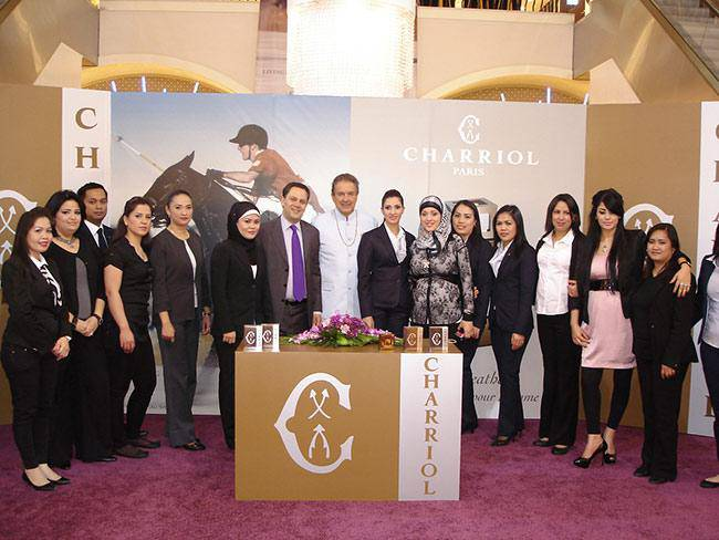 Charriol Royal Leather launch in Middle-East
