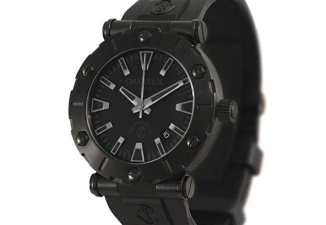 Black watch Rotonde by Charriol Automatic XL