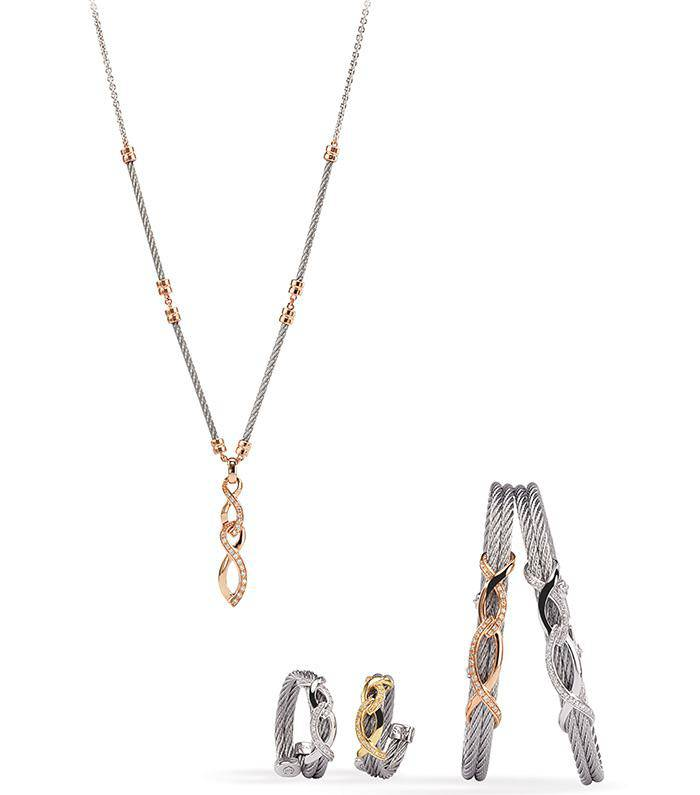 Charriol Jewelry Timeless Elements Line-Double Eight
