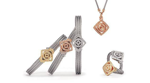 Charriol Jewellery Square and Circle Collection Timeless Elements Line