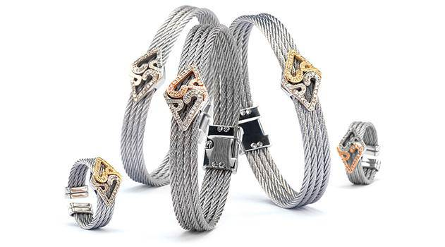 Charriol Jewelry Collection Tiger Timeless Elements Line