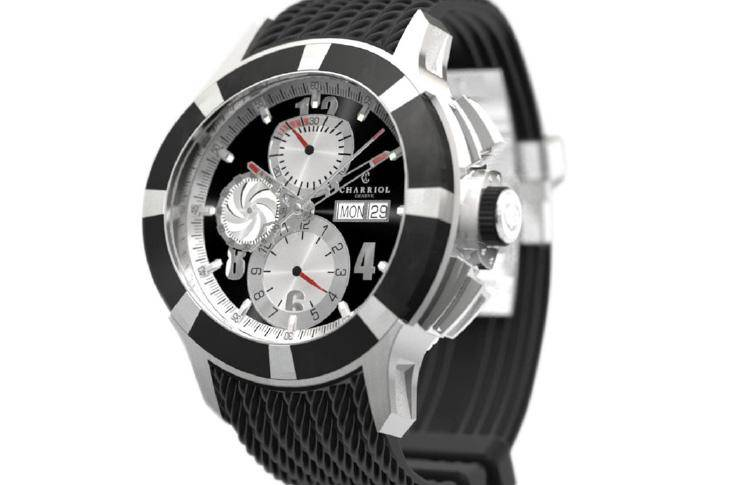Charriol-Gran-Celtica-Chronograph-automatic-watch