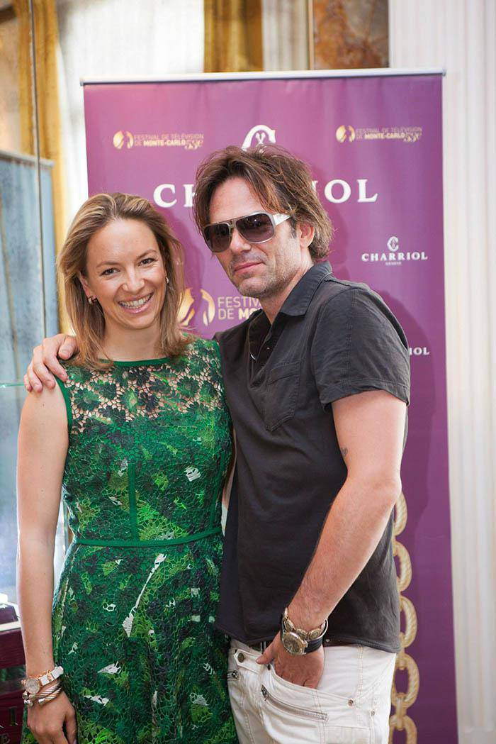 Coralie Charriol Paul and Billy Burke Festival Television Monte Carlo