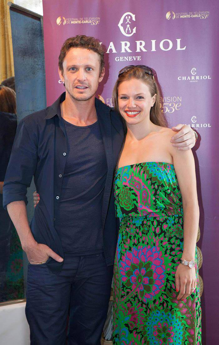 David Lyons and Tracy Spiridakos Revolution Festival Television Monte Carlo