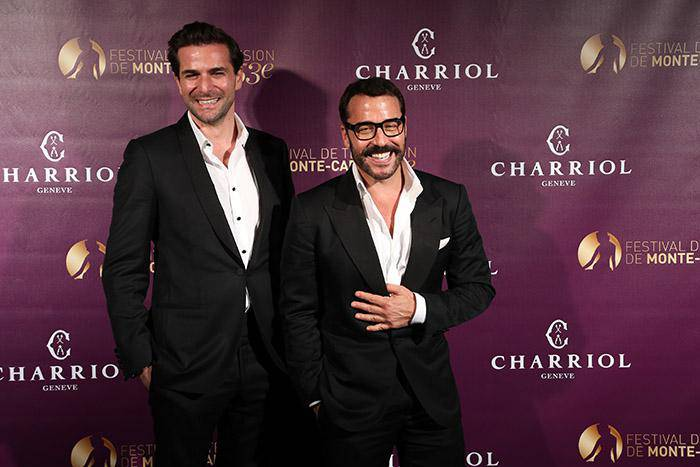 Jeremy Piven Gregory Fitoussi Monte Carlo Television Festival Charriol