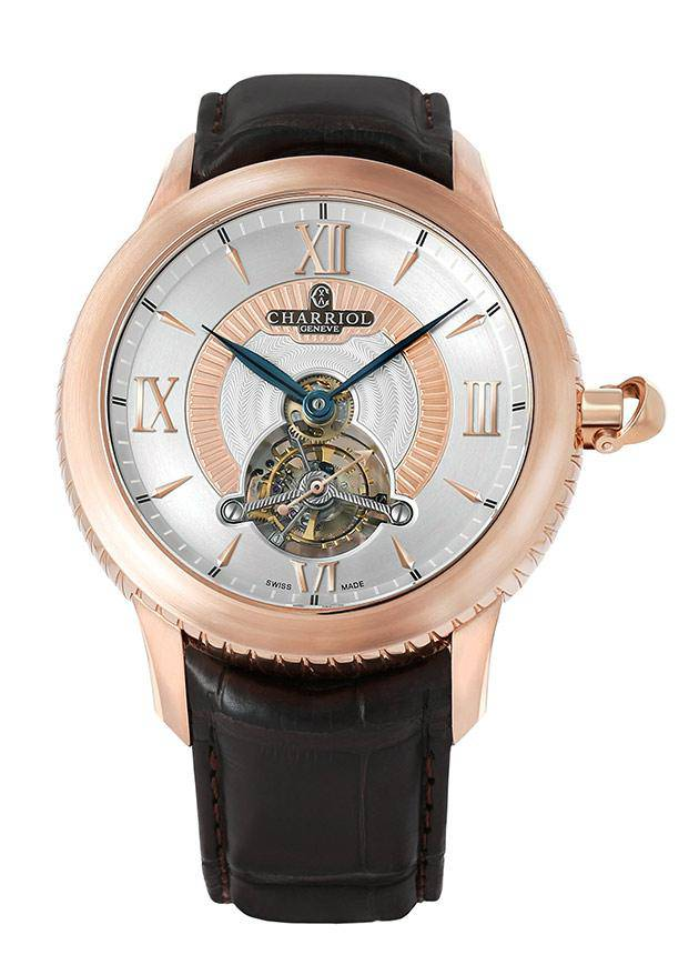Tourbillon watch Columbus by Charriol