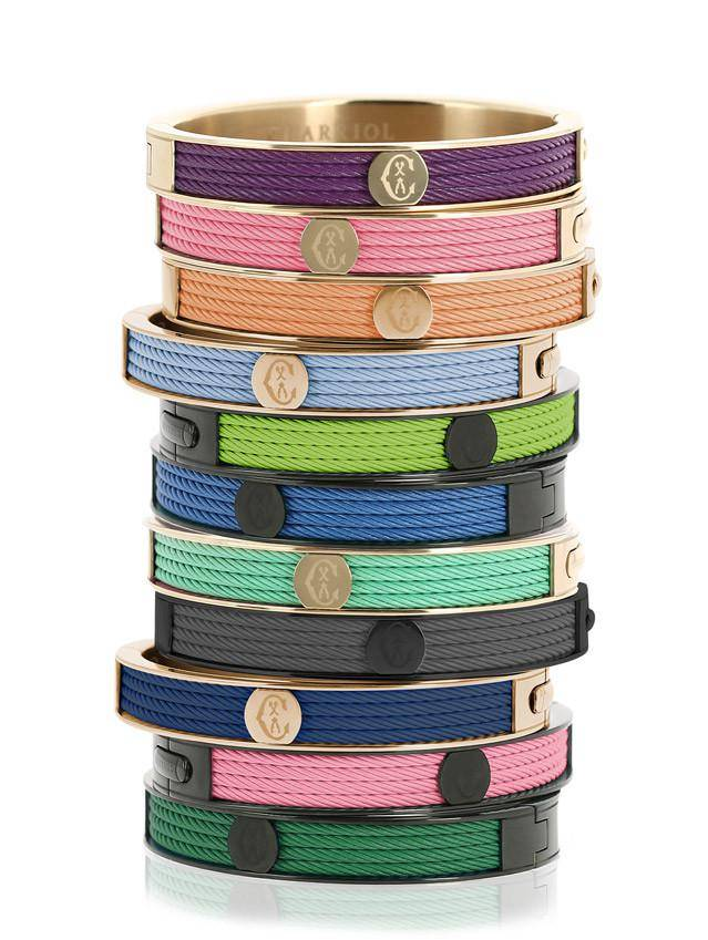 Cable-bracelet-Forever-Young-colors-Charriol