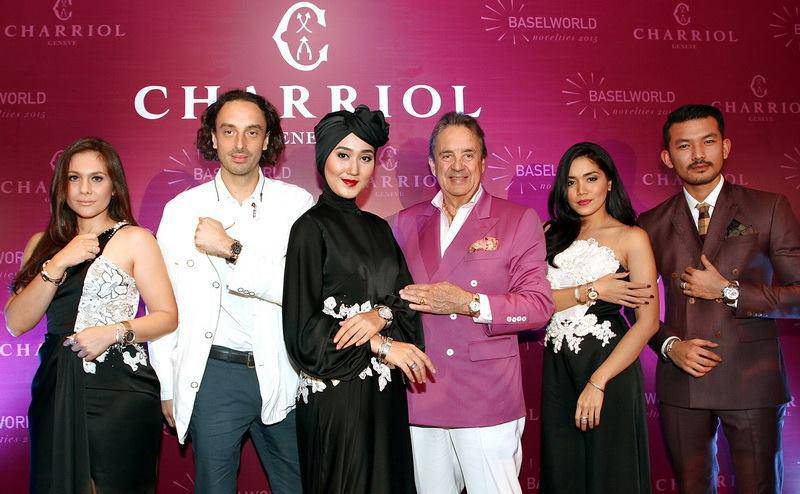 Charriol 2015 launching party Indonesia Jakarta