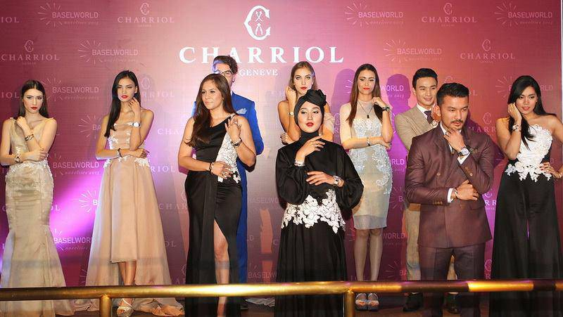Charriol 2015 launching party Indonesia