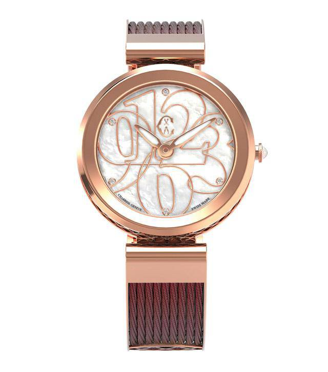 CHARRIOL-Watch-FOREVER-Burgundy