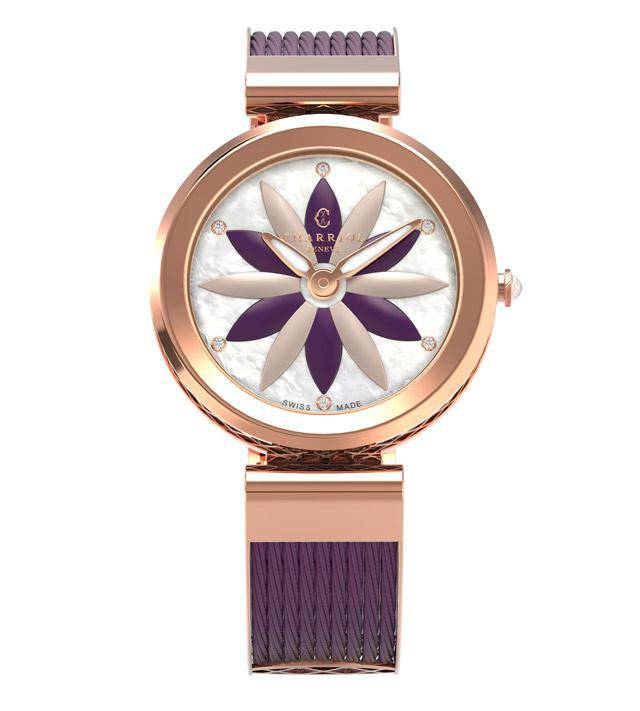CHARRIOL-Watch-FOREVER-Prune-Lotus