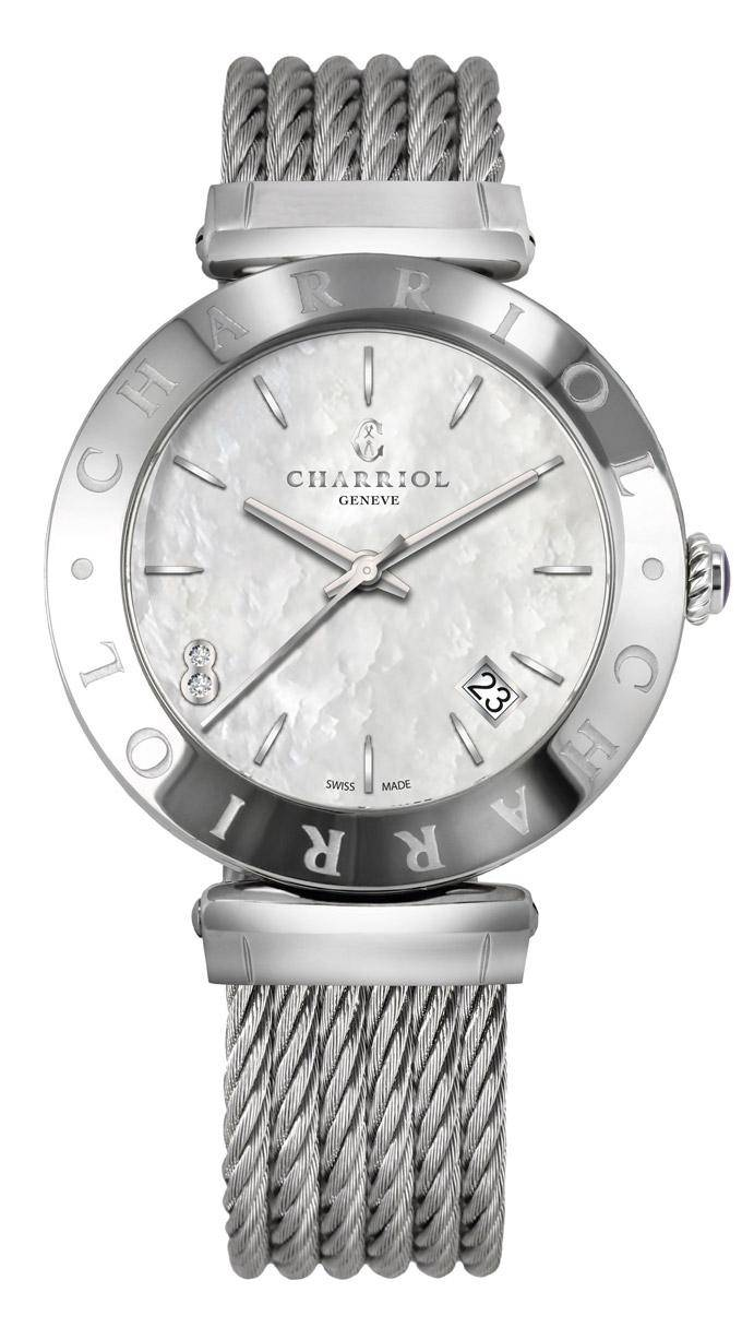 CHARRIOL-Watch-ALEXANDRE-C-Lady-Steel