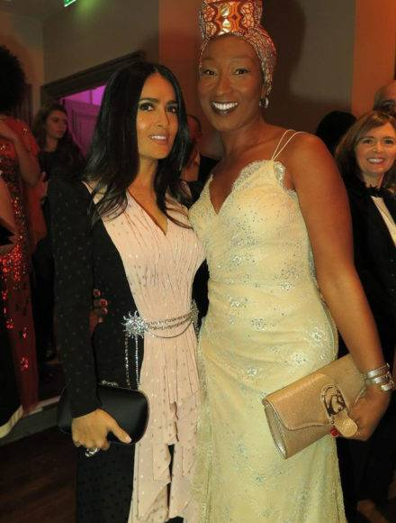 Salma Hayek and Nadège Beausson Diagne