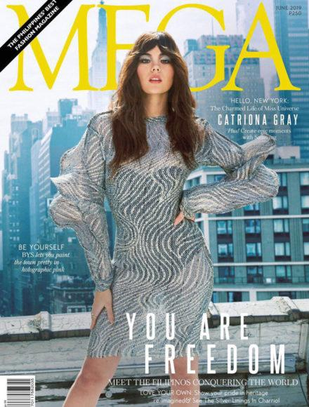 Catriona-Gray-Charriol-MEGA-cover-magazine